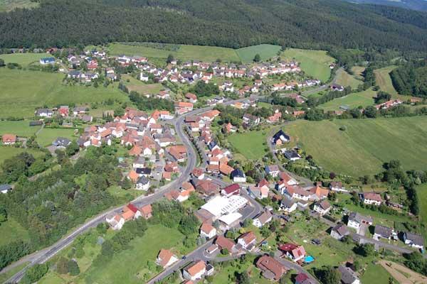 Luftbild Herfa, Foto: Dennis Schmelz